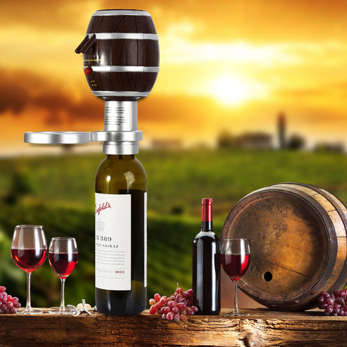 Barrel Shaped Wine Pump and Aerator - 50% OFF Today! - My Passion Street