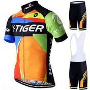 5D Gel Padded Pro Cycling Jersey Set - 50% OFF