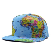 Travelers World Map Cap - My Passion Street