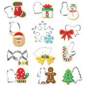 12Pcs Christmas Themed Cookie Cutters - 50% OFF TODAY - My Passion Street