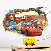 Cartoon Cars Wall Stickers