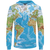 World Map Hoodie for Travel Enthusiasts- 50% OFF - My Passion Street