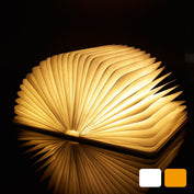 Foldable Wooden LED Book Light - 50% OFF TODAY - My Passion Street