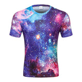 3D Galaxy Space T-Shirt - My Passion Street