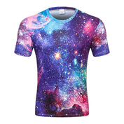 3D Galaxy Space T-Shirt
