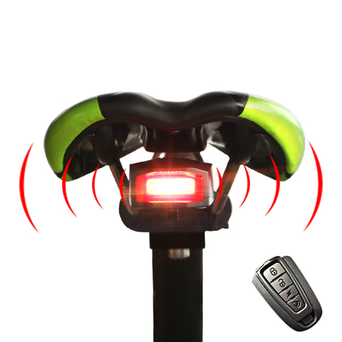 Anti-Theft Remote Control Bike Taillight - 50% OFF