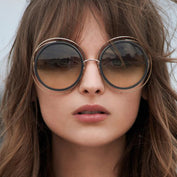 Round Oversized Hinged Sunglass - 50% OFF - My Passion Street
