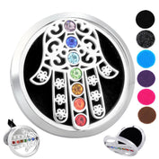 Hamsa Chakra Essential Oils Car Diffuser - 60% OFF