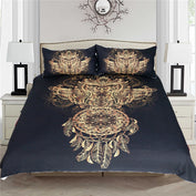 3D Owl Dreamcatcher Bedding Set - 50% OFF