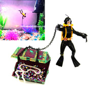 Treasure Hunter Fish Tank Ornament - My Passion Street