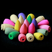 Mixed Colors 20pcs Natural Incense Cones-50% OFF- Today - My Passion Street