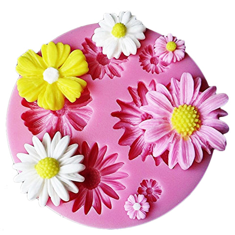 3D Flower Fondant Silicone Mold - 50% OFF Today!