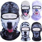 3D Dog Balaclava Mask