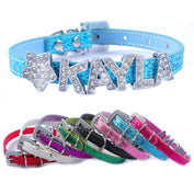 Cute Personalized Rhinestone Dog Collar - My Passion Street