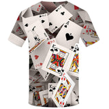 3D Poker Cards T-Shirt - 50% OFF - My Passion Street
