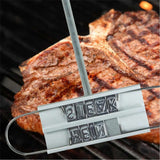 BBQ Changeable Letters Branding Iron