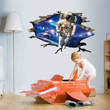 3D Astronaut Wall Sticker - My Passion Street