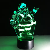 Christmas Gift - 7 Color Changing Santa Claus Lamp - 50% OFF TODAY - My Passion Street