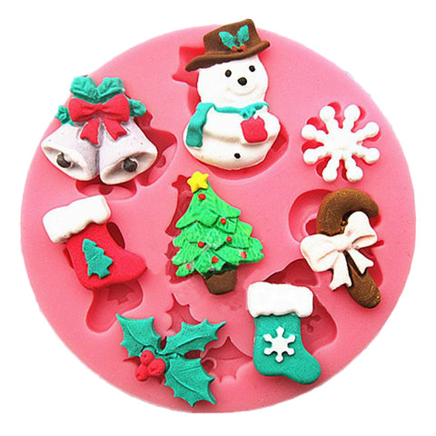 Christmas Frosted Snowman Baking Mold - 50% OFF TODAY