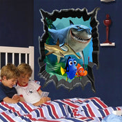 Finding Nemo 3D Wall Sticker - My Passion Street