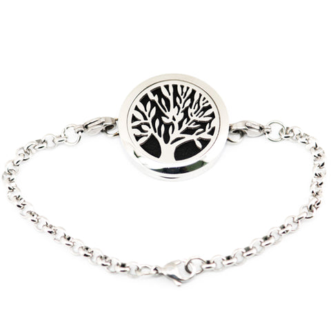 Tree of life Diffuser Magnetic Bracelet