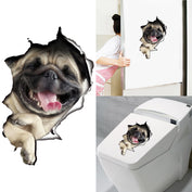 3D Funny Dog Wall Sticker - My Passion Street