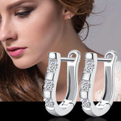 Horseshoe Sterling Silver Earrings - My Passion Street