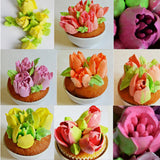 Russian Tulip Icing Nozzle Set (7 pcs) - 50% OFF Today!