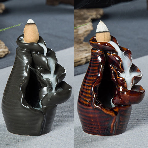 Aroma Backflow Incense Burner