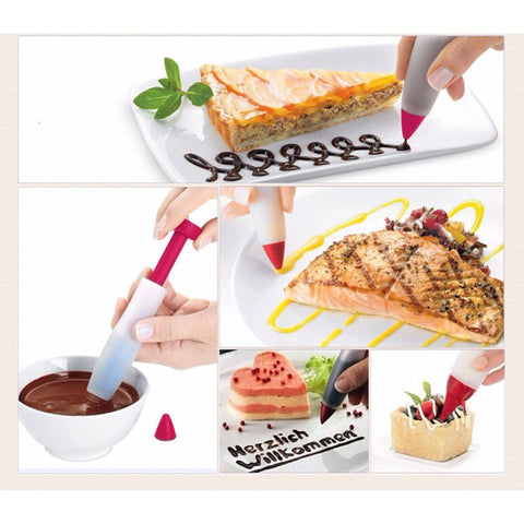 Cake Decor Silicone Writing Pen