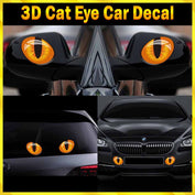 3D Cat Eye Car Decal-50% OFF-Today! - My Passion Street