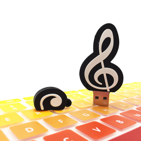 Music Note USB Flash Drive