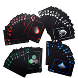 Waterproof Black PVC Playing Cards - My Passion Street