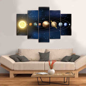 Solar System Canvas Art - My Passion Street