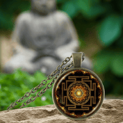 Sacred Sri Yantra Pendant - 50% OFF Today! - My Passion Street