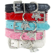 Cute Dog Collar with Rhinestone Pendant - My Passion Street