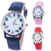Lovely Black Cat Quartz Watch-50% OFF-Today - My Passion Street