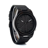 Black Ebony Wooden Watch