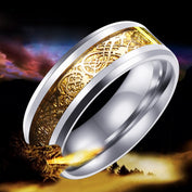 Dragon Viking Steel Ring - My Passion Street