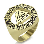 Viking Norse Silver Gold Rings- 50% OFF - My Passion Street