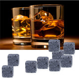 Natural Ice Cube Whiskey Stones Set