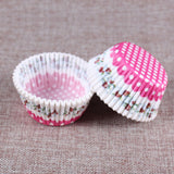 100pcs Cute Cupcake Wrappers - My Passion Street
