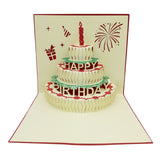 3D LED with Music Birthday Cards