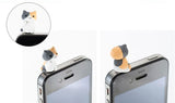 6 iPhone iPad Anti Dust Cat Plugs - My Passion Street
