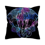 Majestic Elephant Bohemian Pillow Cover