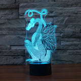 3D Color Changing Ancient Dragon Art - 50% OFF TODAY