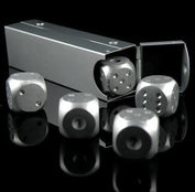 Aluminium Portable Poker Dice - My Passion Street