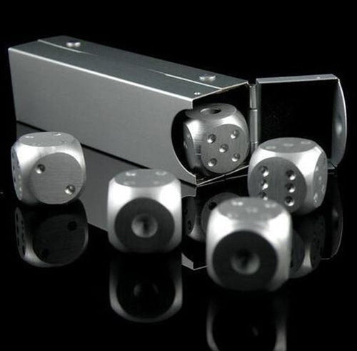 Aluminium Portable Poker Dice