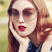 Rimless Gradient Oversized Sunglass - 50% OFF - My Passion Street
