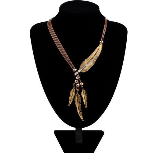 Bohemian Style Feather Necklaces - 50% OFF TODAY